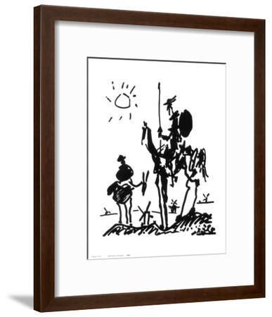 Don Quixote, c.1955-Pablo Picasso-Framed Art Print