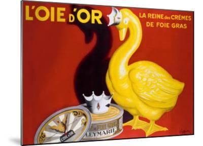 L'Oie d'Or-Leonetto Cappiello-Mounted Giclee Print