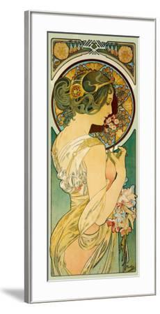 La Primevere-Alphonse Mucha-Framed Giclee Print