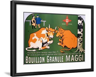 Bouillon Maggi-Benjamin Rabier-Framed Giclee Print