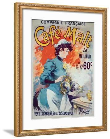 Cafe Malt-Lucien Lefevre-Framed Giclee Print