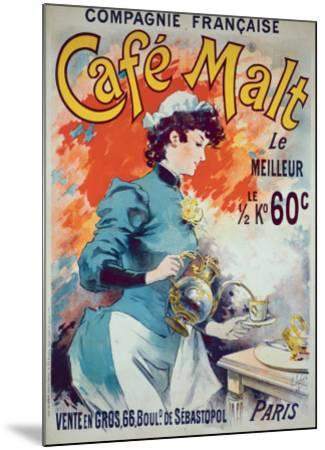 Cafe Malt-Lucien Lefevre-Mounted Giclee Print