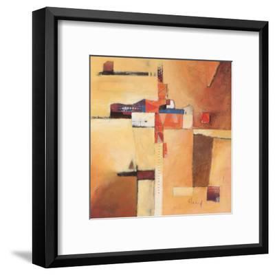 Abstract I-Franz Heigl-Framed Art Print