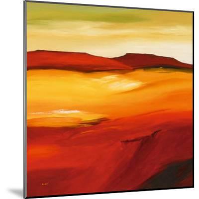 Australian Landscape I-Andre-Mounted Art Print