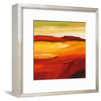 Australian Landscape I-Andre-Framed Art Print