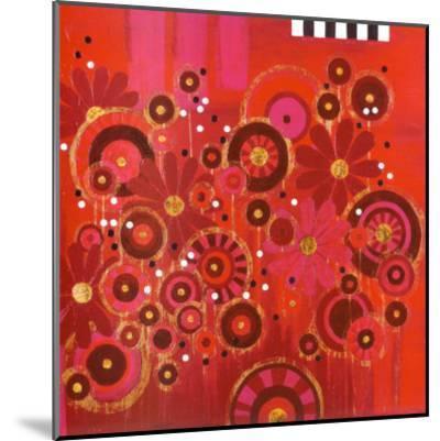 Red Circles II--Mounted Art Print