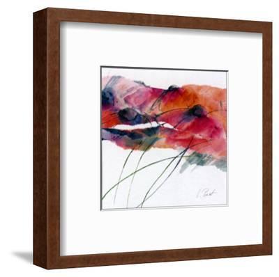 Modern Poppy II-Peuchert-Framed Art Print