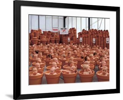 123 Pots-Anne Geddes-Framed Art Print