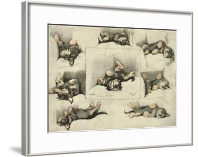 The Model-Cecil Aldin-Framed Premium Giclee Print