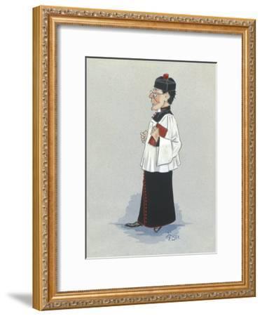 The Monseignor-Simon Dyer-Framed Premium Giclee Print