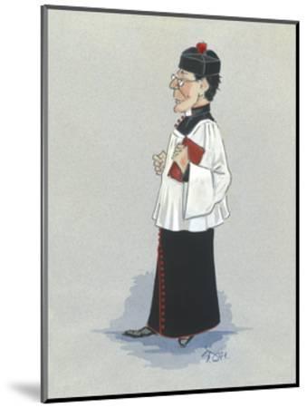The Monseignor-Simon Dyer-Mounted Premium Giclee Print
