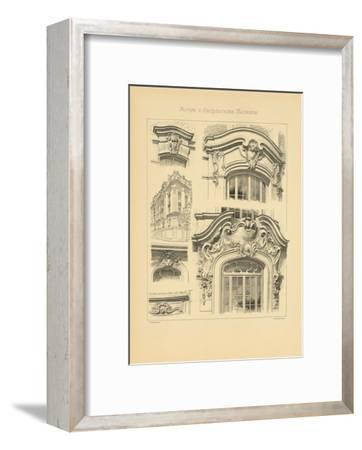Motifs D'architecture Moderne I-Schmidt Schmidt-Framed Premium Giclee Print