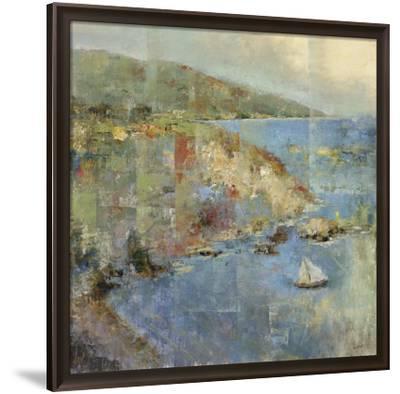 Inlet Retreat-Michael Longo-Framed Art Print
