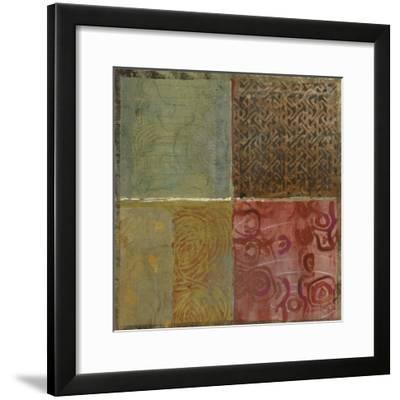 Pattern Luck III-Jennifer Hollack-Framed Art Print