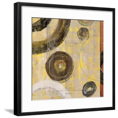 Rotation I-Kannon-Framed Art Print