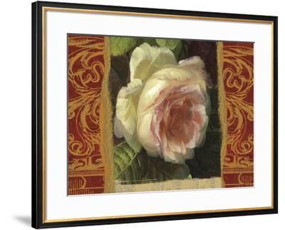 Classic White Rose-Tony Lupas-Framed Art Print
