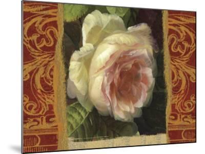 Classic White Rose-Tony Lupas-Mounted Art Print