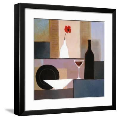 Plate Matrix II-T^ C^ Chiu-Framed Art Print