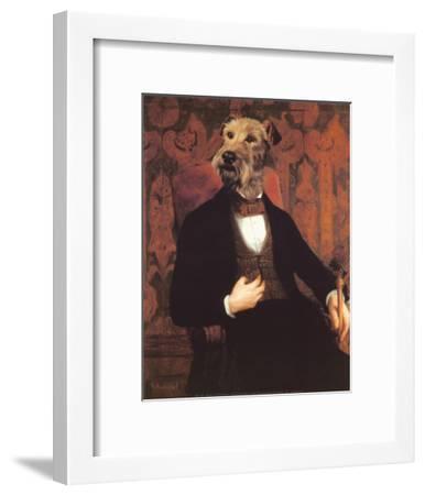 Monsieur-Thierry Poncelet-Framed Art Print