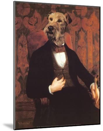 Monsieur-Thierry Poncelet-Mounted Art Print
