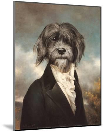 Gavroche-Thierry Poncelet-Mounted Art Print