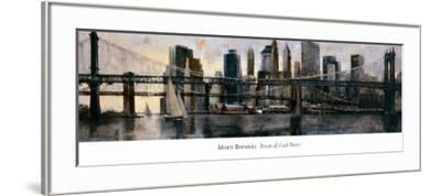 Down at East River-Marti Bofarull-Framed Art Print