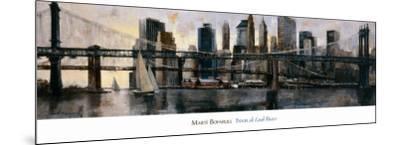 Down at East River-Marti Bofarull-Mounted Art Print