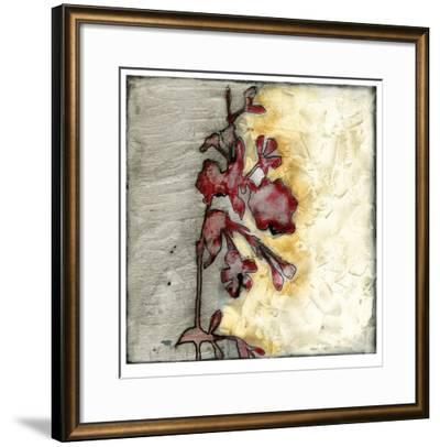 Platinum Silhouette IV-Jennifer Goldberger-Framed Limited Edition