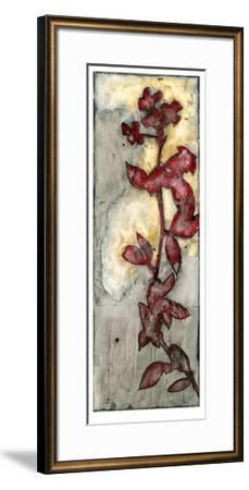 Platinum Silhouette VI-Jennifer Goldberger-Framed Limited Edition