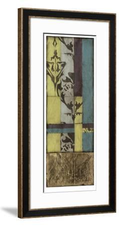 Jeweled Transom VI-Jennifer Goldberger-Framed Limited Edition