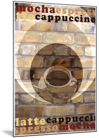 Mocha Espresso-Kelvie Fincham-Mounted Art Print
