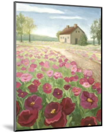 Pink Meadow-Megan Meagher-Mounted Art Print