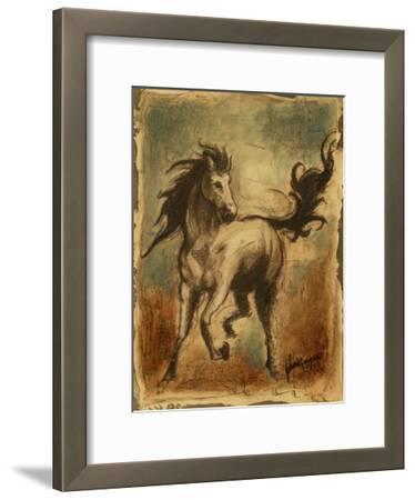 Wild Horses II-Ethan Harper-Framed Art Print