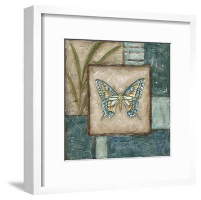 Butterfly Montage I-Chariklia Zarris-Framed Art Print