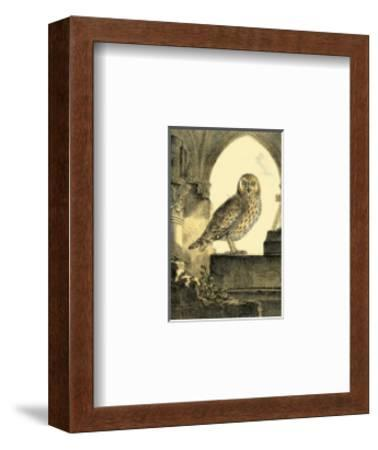Night Guardian IV--Framed Art Print