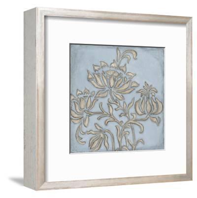 Silver Filigree VI-Megan Meagher-Framed Giclee Print