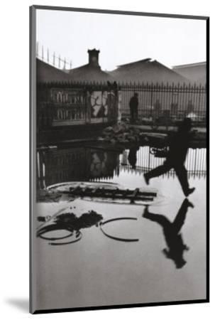 Derriere la Gare Saint-Lazare, Paris-Henri Cartier-Bresson-Mounted Art Print
