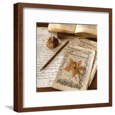 Authour d'Un Herbier-Celine Sachs-jeantet-Framed Art Print