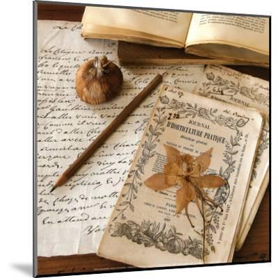 Authour d'Un Herbier-Celine Sachs-jeantet-Mounted Art Print