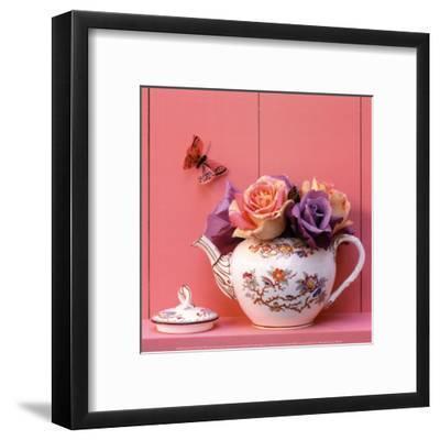 Theiere de Roses-Gaillard-Framed Art Print