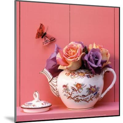 Theiere de Roses-Gaillard-Mounted Art Print