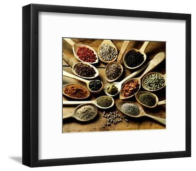 Epices at Cuilleres-Kerth-Framed Art Print