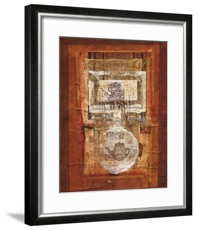 Composition Hindoue-Lucie Granetier-Framed Art Print