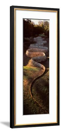 Stone River-Andy Goldsworthy-Framed Art Print