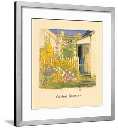 Grandma Battin's Garden-Gustave Baumann-Framed Art Print