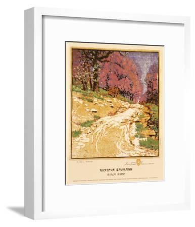 Ridge Road-Gustave Baumann-Framed Art Print