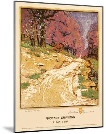 Ridge Road-Gustave Baumann-Mounted Art Print