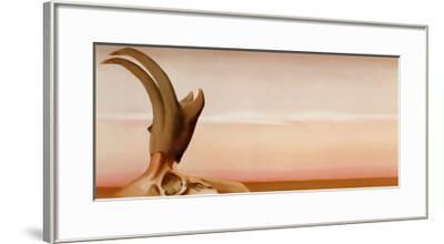 Antelope-Georgia O'Keeffe-Framed Art Print