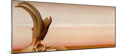Antelope-Georgia O'Keeffe-Mounted Art Print