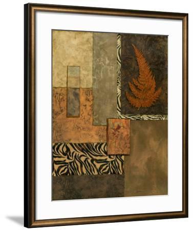 Exotic Fern II-Norm Olson-Framed Art Print